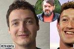 Kokta se pochlubil synem z prvního manželství. Petr (32) vypadá jako zakladatel Facebooku Zuckerberg!