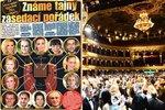 Známe tajný zasedací pořádek Plesu v Opeře: Kdo s kým a vedle koho?