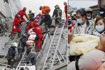 V Tchaj-wanu zemřelo při masivním zemětřesení nejméně 7 osob