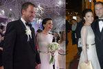 To nemá co na sebe? Partyšová přišla na Ples v Opeře ve svatebních šatech!