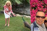 Hanka Zagorová se Štefanem Margitou si užívají dovolenou v Dubaji.