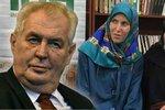 Prezident Zeman potvrdil výkupné za Hanku a Tonču
