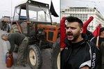 Řeckem zmítají protesty