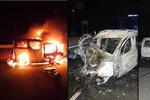 Řidič v Ostravě narazil do mostního pilíře: Uhořel ve svém voze
