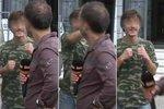 Ta sedla! Reportér primáckých Krimi zpráv dostal pěstí před očima policistky!