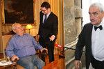 Ovčáček láká na Hrad Schwarzenberga jako důchodce. Politolog: Trapné spory