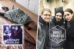 Nový seriál Drazí sousedé napoprvé nebodoval: Reprízovaný vrah babiček zaujal víc