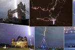Ničivé blesky nešetří ani světové památky: Takhle to vypadá, když se bohové hněvají!