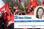 Novinářka Blesku nástrojem propagandy: Čínská média lidská práva nezmínila