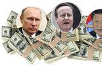 Cameron, Putin, Si Ťin-pching: Obří únik dokumentů odhaluje podvody elit