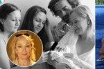 Manžel Basikové poprvé zveřejnil fotky své ženy s novorozeným synem!