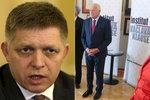 Klausová jela kvůli Ficovi do Prahy zbytečně. Jeho infarkt se ale nepotvrdil