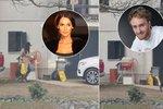 Bučková před domem Vágnera s igelitkami v ruce: Budují si milenci hnízdečko lásky?