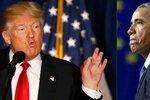 Obama mě před volbami odposlouchával! Trump obvinil na Twitteru exprezidenta