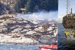 Po havárii vrtulníku 13 mrtvých. Zřícení na ostrov nikdo nepřežil
