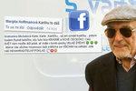 Gott v nemocnici kvůli vážné operaci: Karle, vydržte, jste bojovník! Fanoušci posílají vzkazy i básně