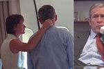 Pane prezidente, zaútočili na nás! Ojedinělé snímky z 11. září ukazují zdevastovaného Bushe