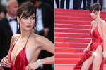 Modelka Bella Hadid (19) v Cannes: Ukázala od všeho kousek!