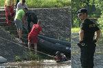 Malše v Českých Budějovicích se stala mělkým hrobem, utopil se v ní muž
