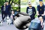 Tomáš Klus poprvé s novorozeným synem na procházce! Tamara je týden po porodu jako lunt