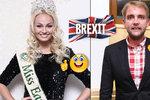 """Brexit rozděluje celebrity: Bouček mluví o prohře Evropy, česká Miss Earth tleská zemi, co """"má koule"""""""