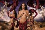 Pohádkové akty, které odhalují ženskou krásu a nevinnost
