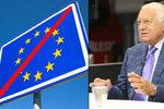 Klaus: Czexit je až plán B. Pokud to bude s Evropskou unií beznadějné