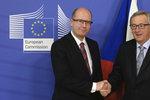Česko popelnice Evropy: Komise problém začne řešit, pochvaluje si Sobotka