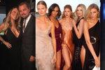 Charita podle DiCapria: Polonahé topmodelky, Petra Němcová, Mariah Carey, Bono a milionová dražba