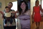 V těhotenství ztloustla a nespala se svým mužem! Za půl roku má 30 kg dole!