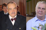Schwarzenberg: Ať žije prezident major Zeman! Jsou politici pro oplocené Česko?