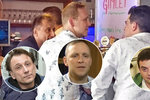 Trojice slavných mužů v gay baru: Rajmont, Stach a Špinar vyrazili na skleničku