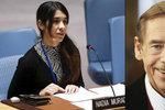 ISIS jí zabil rodinu a udělal z ní sexuální hračku. Nadja získala Havlovu cenu