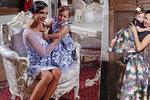 Dvořáková s Noidem zapřáhli dcerku: Ve dvou letech se stala modelkou!