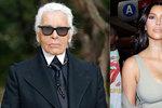 Okradená Kim Kardashian to slízla: Když se chlubíš bohatstvím, tak se pak nediv, vyčetl jí Karl Lagerfeld