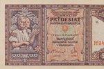 Třímilionová padesátikoruna: V Brně vydražili vzácnou bankovku