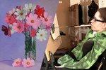 Výstava umělců s handicapem: Nádherné obrázky malovali pusou či nohama