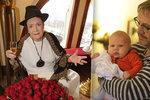 Vlasta Chramostová slavila 90! Popřál jí i Matásek s novou rodinkou