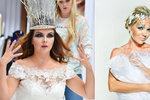 Jako z pohádky: Vondráčková, Morávková a Kubelková se proměnily ve sněhové královny
