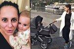 Noční můra každé mámy: Strach Něrgešové o pětiměsíční dceru!