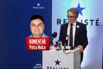 Komentář: Plagiátor Robejšek chce s miliardářem v zádech zachránit blaho národa