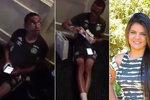 Dojemné video: Fotbalista se jen před týdnem dověděl, že bude táta! Zemřel v letadle smrti