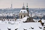 Zima znovu v plném proudu: Prahu čeká ochlazení i sněhová nadílka