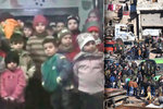 Z Aleppa evakuovali tisíce lidí. Sirotci na videu stále prosí o záchranu