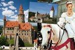 Kde se točily slavné české pohádky? Přehled hradů a zámků