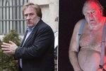 Gérard Depardieu na divadelních prknech: Ukázal odulou tvář a obrovské břicho