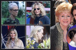 Sbohem, princezno Leio! Meryl Streep, Gwyneth Paltrow, Meg Ryan a další na pohřbu Carrie Fisher