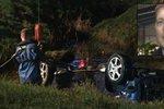 Tomáš vytáhl z potopeného auta otce a jeho malé dcery: Holandsko se klaní před jeho hrdinstvím