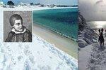 Slunné italské pobřeží zasypal sníh: Konec světa přichází, předpověděl prorok