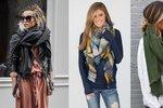 Bez hřejivé maxišály si už zimu ani neumíme představit. Skvělé je na ní i to, že může být pokaždé jiná. Nemusíte si tak kupovat několik šál, ale stačí se naučit pár způsobů, jak si tu svou oblíbenou uvázat.